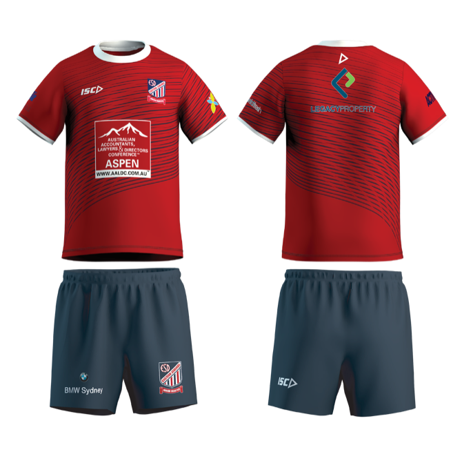 Beasties Training Kit: Red training tee, Navy Easts Junior Beasties shorts, Navy & white socks, Rugby boots (no metal studs to be worn on Oval 1)