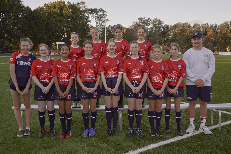 Easts Junior Beasties Girls 7s Team