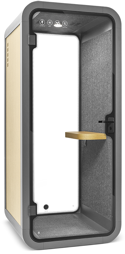 PEACEPOD soundproof phone booth