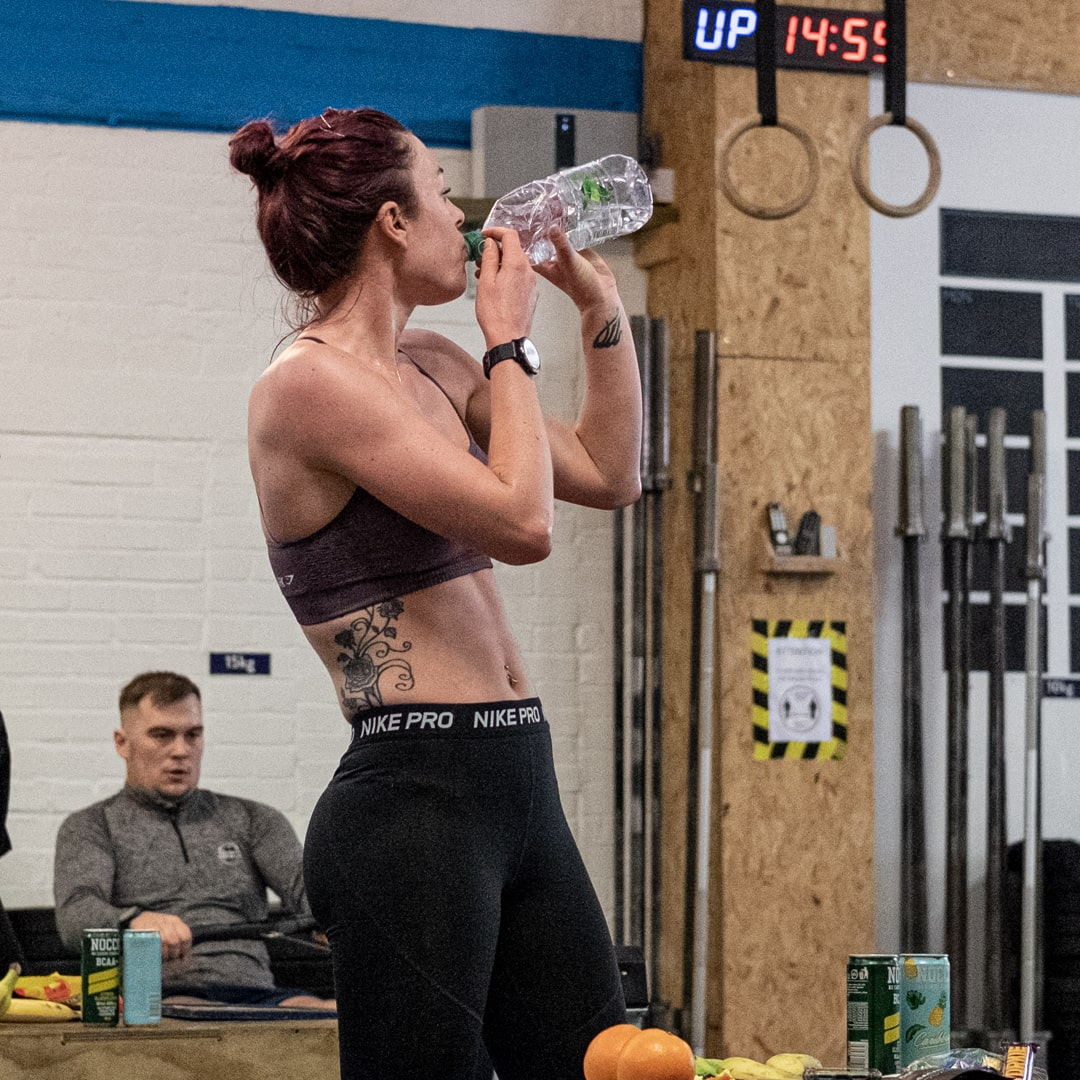 DefianceFit keeping staying hydrated.