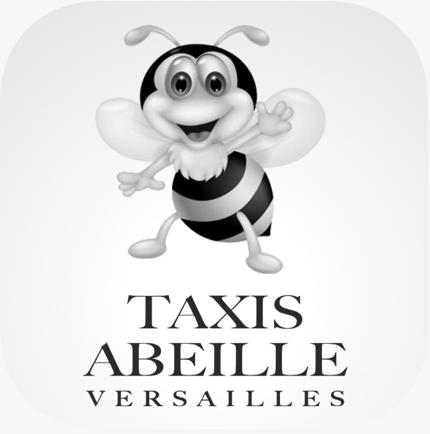 Logo Taxi Abeille Gris