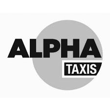 Logo Alpha Taxis gris