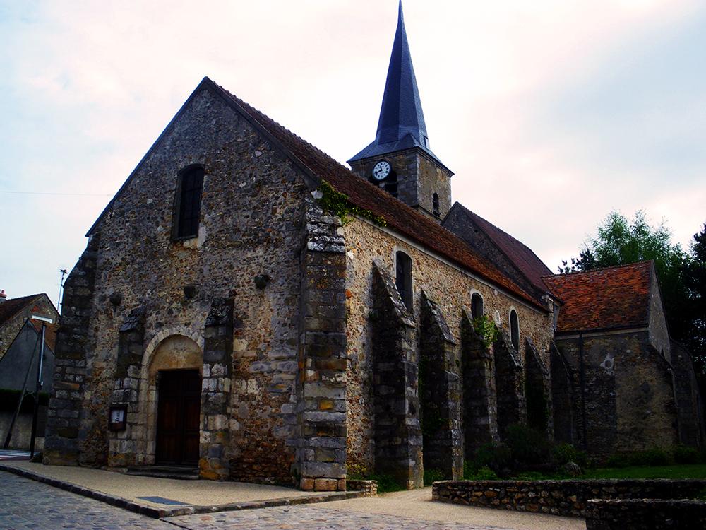 Eglise Angervilliers Paris Jour