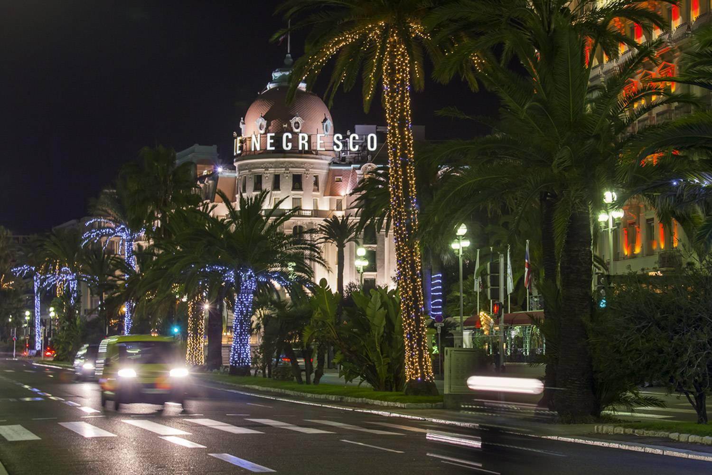 Visiter Nice la nuit