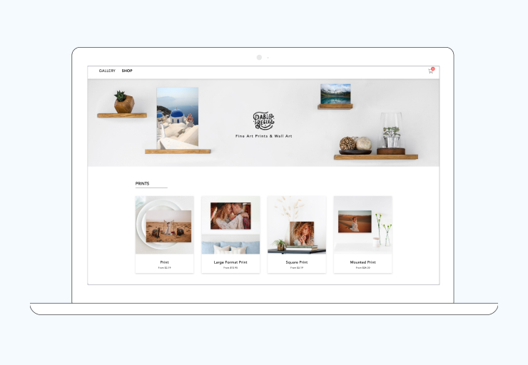 CloudSpot's new storefront experience gives your clients confidence when they buy, paving the way for you to set yourself apart and earn more in every gallery.