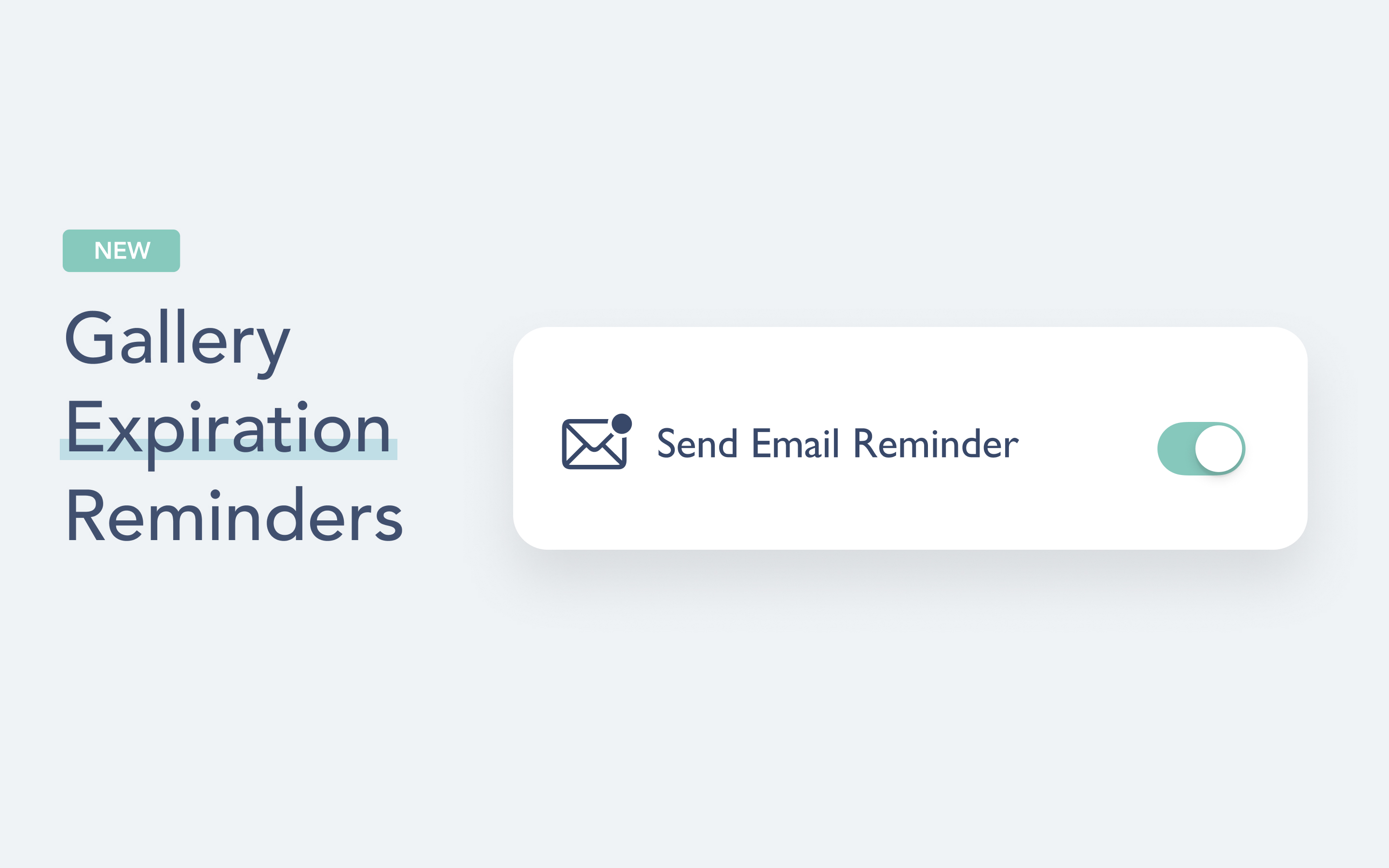 CloudSpot's custom expiration reminders are designed to help you automatically save time and serve your clients without missing a beat!