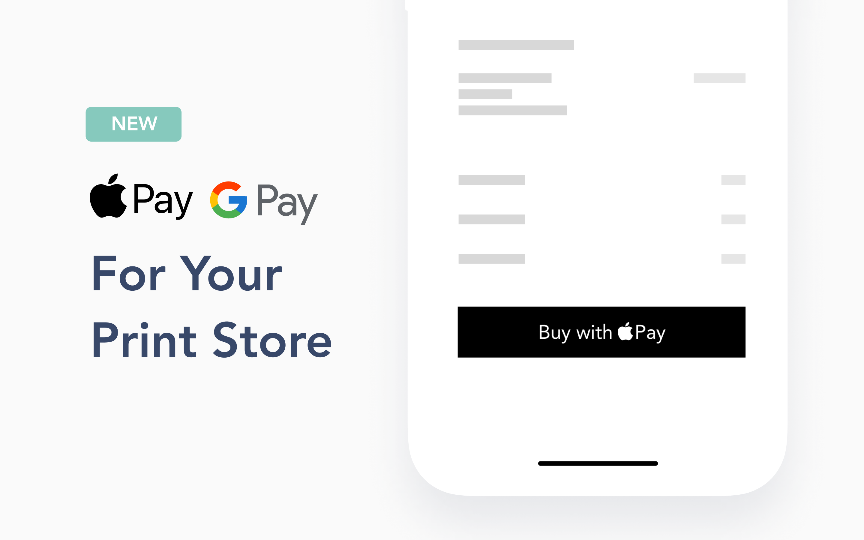 The easiest way for photographers to sell photos online just got easier! Your clients can now checkout with a touch using Apple Pay or Google Pay directly in your Store.