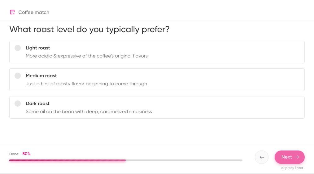 roast coffee quiz
