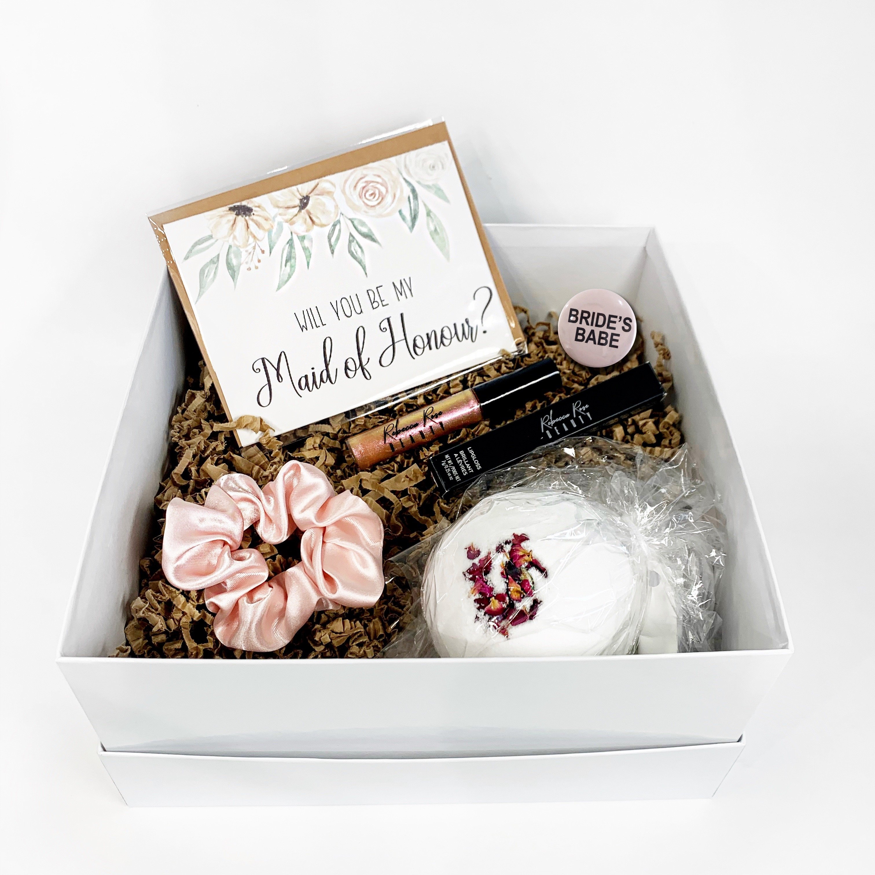 Maid of Honour Proposal Box