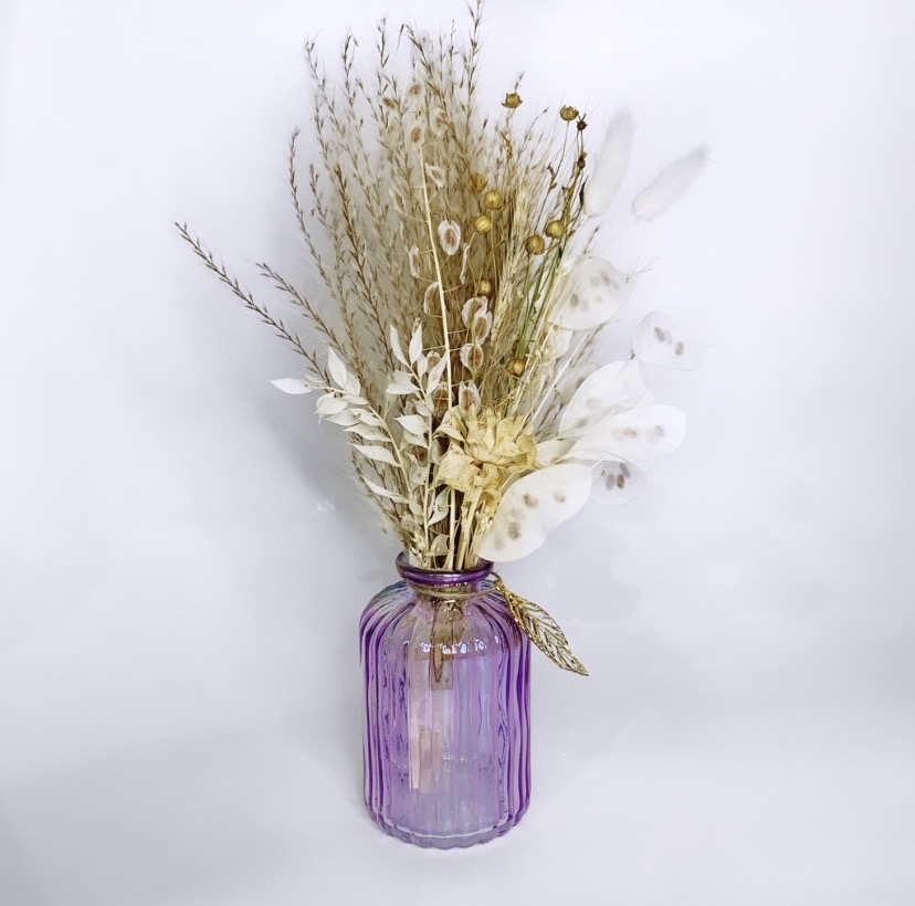 Petite Nude Dried Flower Bouquet