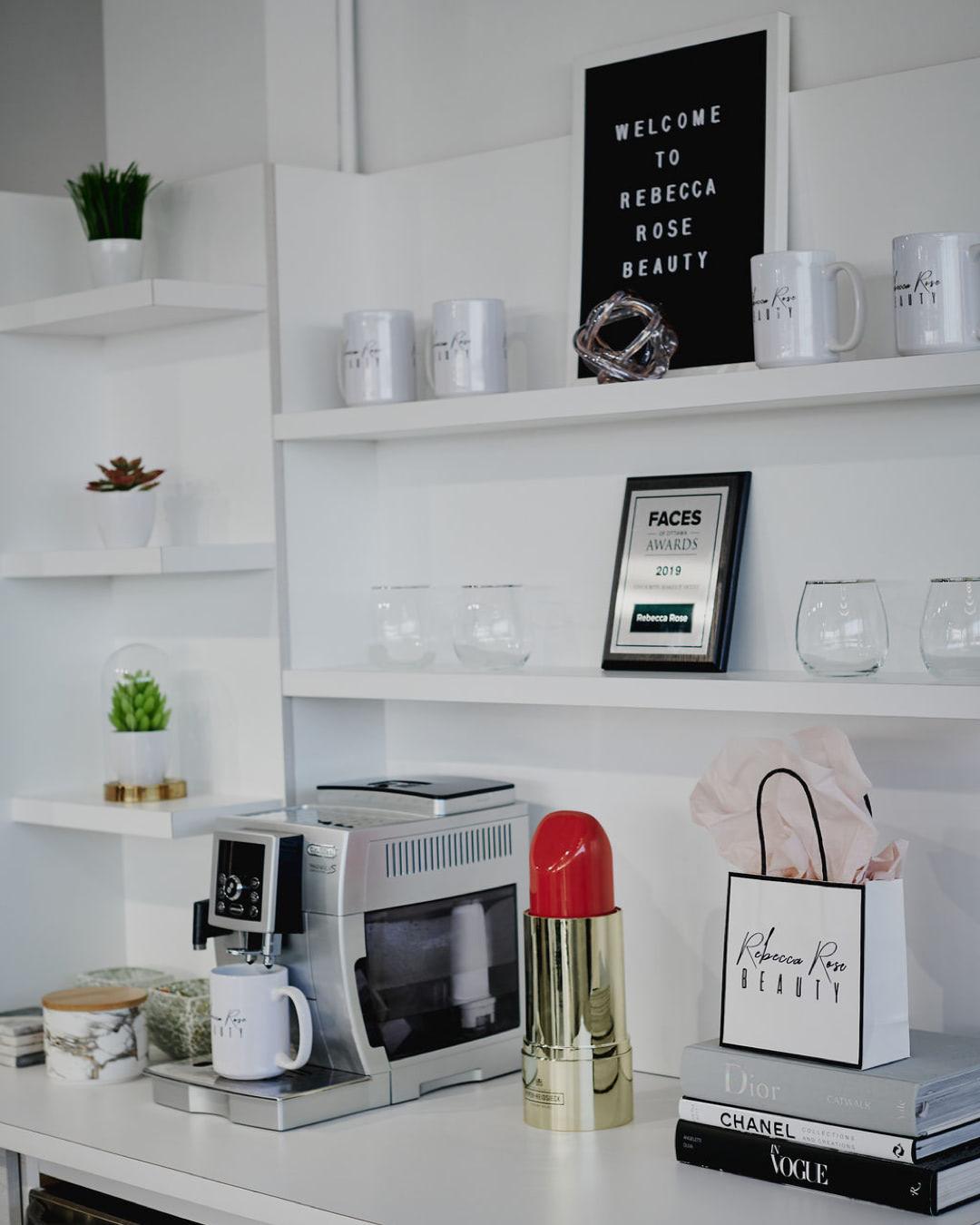 Rebecca Rose Beauty Lounge.