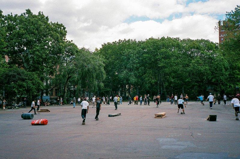 Skatespots vs skateparks