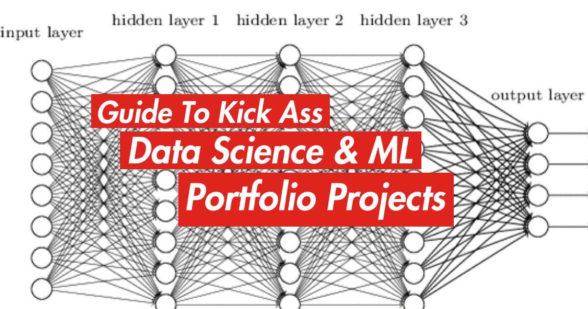 How to create data science portfolios and land jobs at top tech companies.
