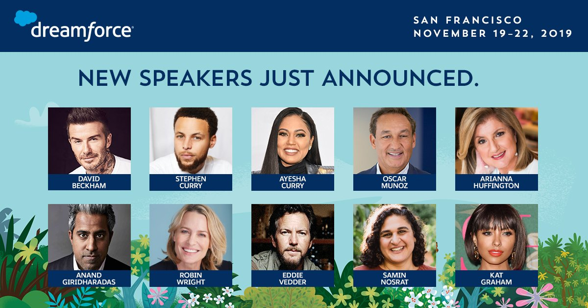 """Dreamforce & Salesforce Events on Twitter: """"An all-star line-up of ..."""