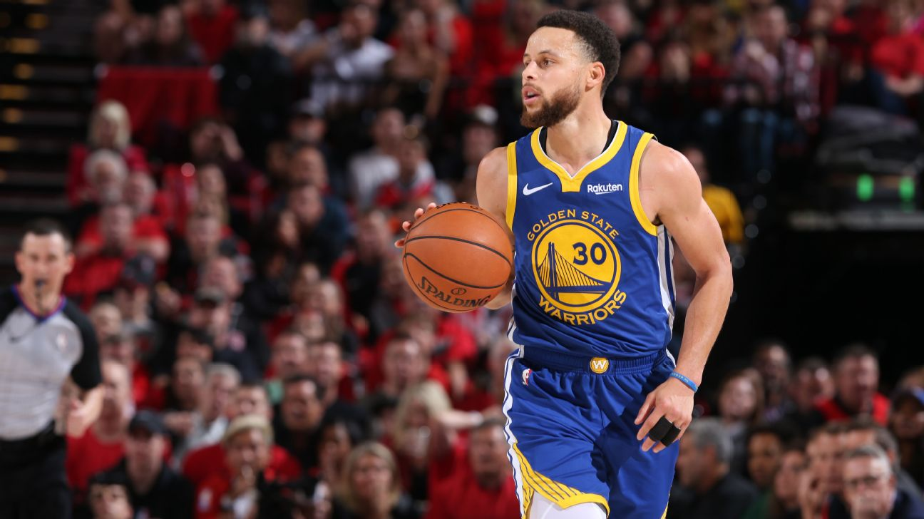 Peak Stephen Curry was unleashed in the Western Conference finals ...