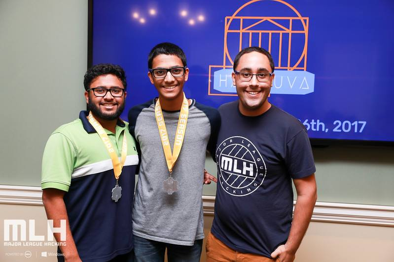 1st Place Medals Awarded by Major League Hacking (MLH)