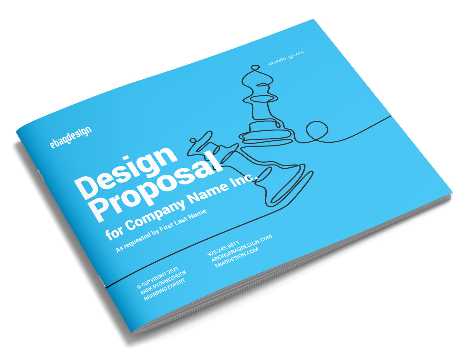 The Design Proposal Template — The Easiest Way To Write Design Proposals