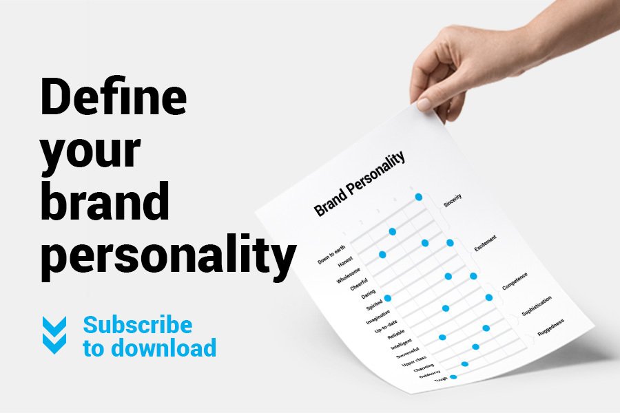 Define your brand personality