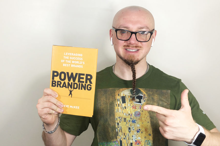 """""""Power Branding: Leveraging the Success of the World's Best Brands"""" by Steve McKee"""
