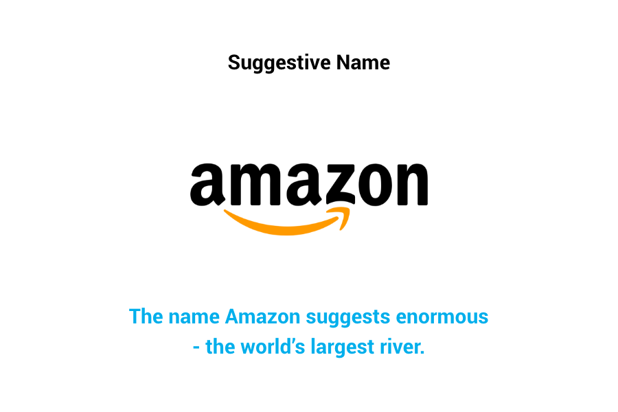 Amazon - suggestive name