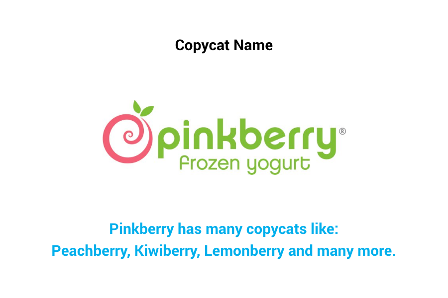 Pinkberry - Copycat name