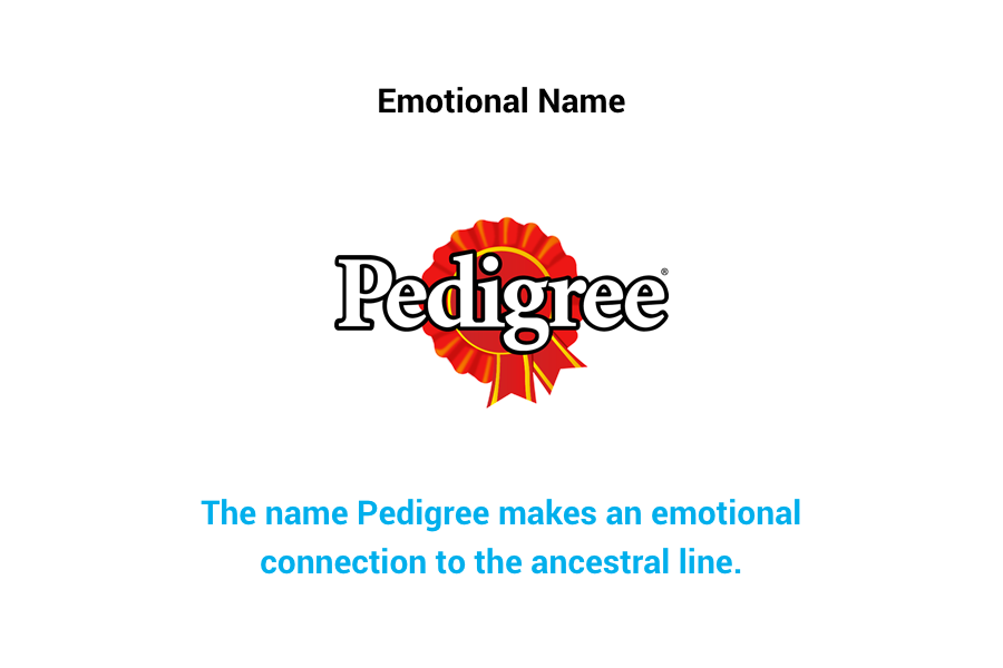 Pedigree - emotional name