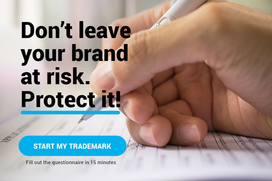 Start your trademark process.
