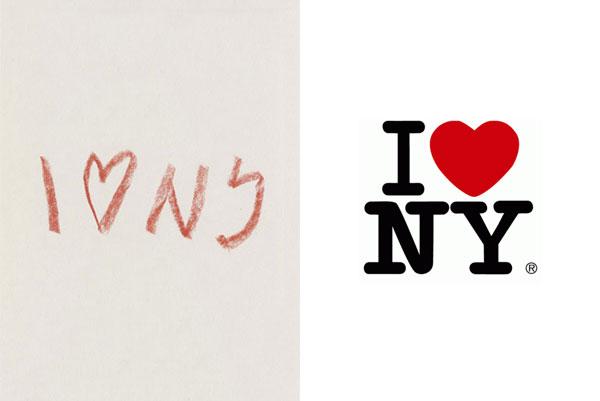 I love NY logo sketch