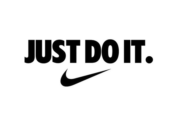 "Nike slogan ""Just Do It"""