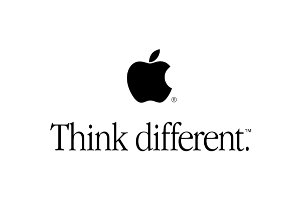 "Apple slogan ""Think Different"""