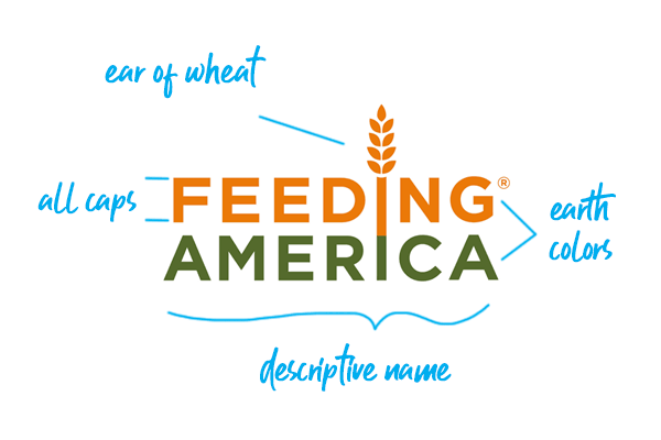 Feeding America logo explained
