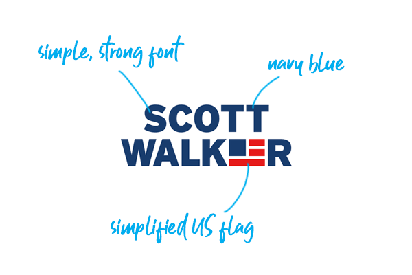 Scott Walker campaign logo 2016