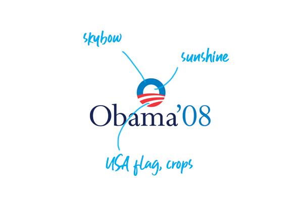 Barack Obama campaign logo 2016
