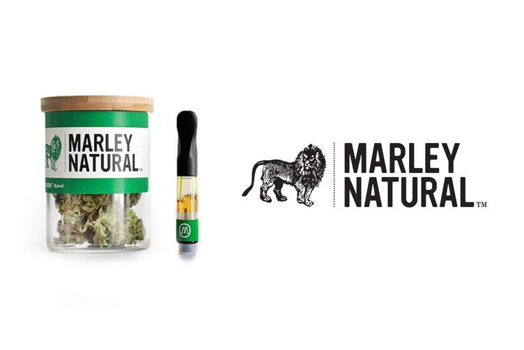 Marley Natural - marijuana logos