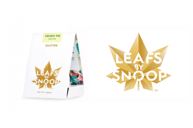 Leafs by Snoop - marijuana logos