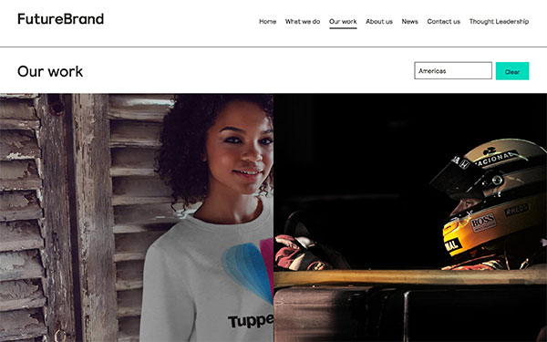FutureBrand - graphic design firm based in New York