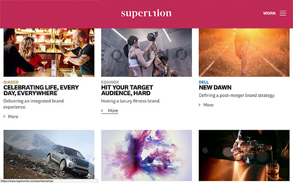 Superunion - graphic design firm based in New York