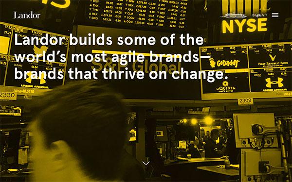 Landor Associates - graphic design firm based in New York