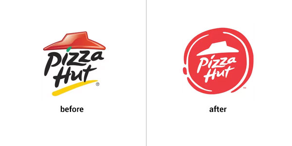 Pizza Hut logo design gone wrong