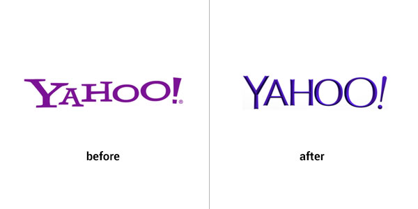 Yahoo logo design gone wrong