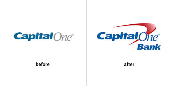 Capital One logo design gone wrong