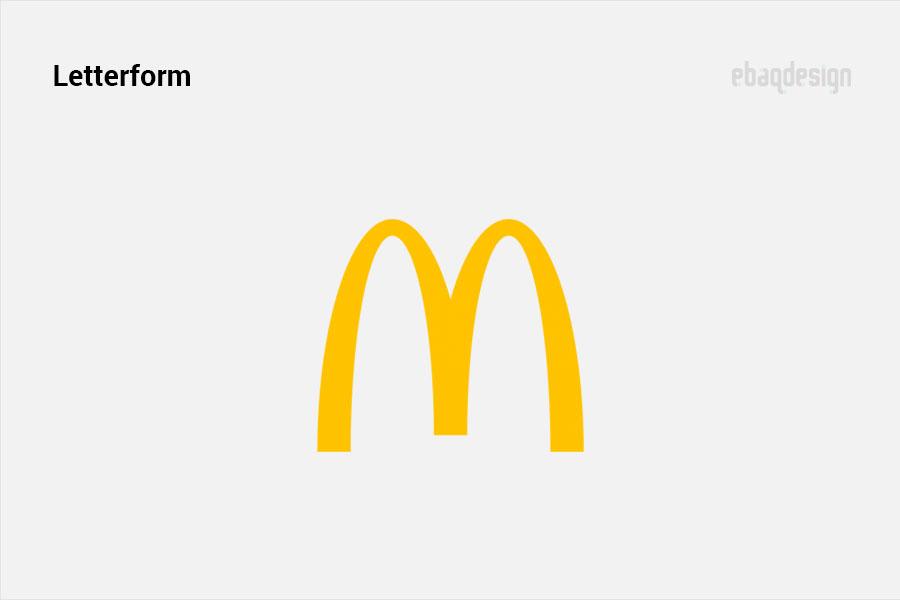 Pictorial mark example - McDonald's