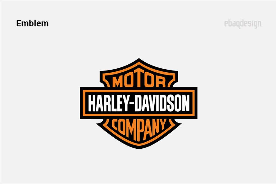 Emblem example - Harley Davidson