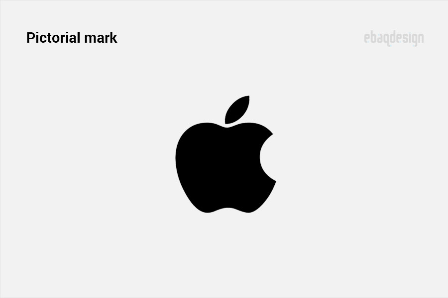 Pictorial mark example - Apple