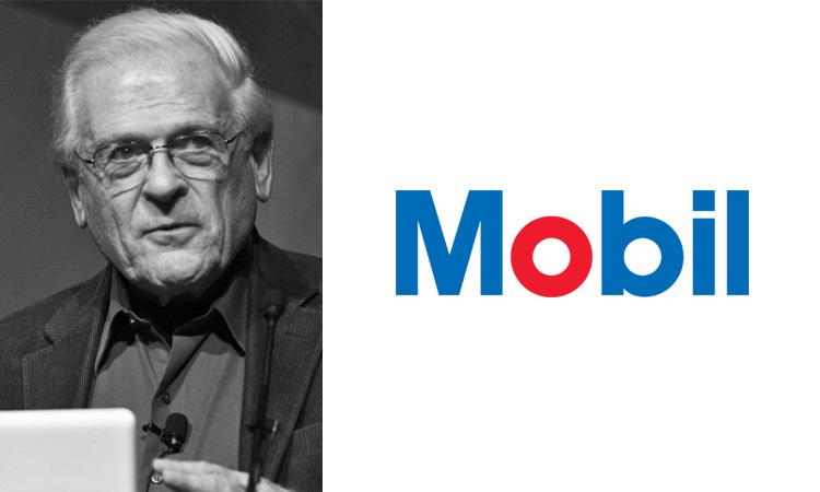Tom Geismar, Mobil logo