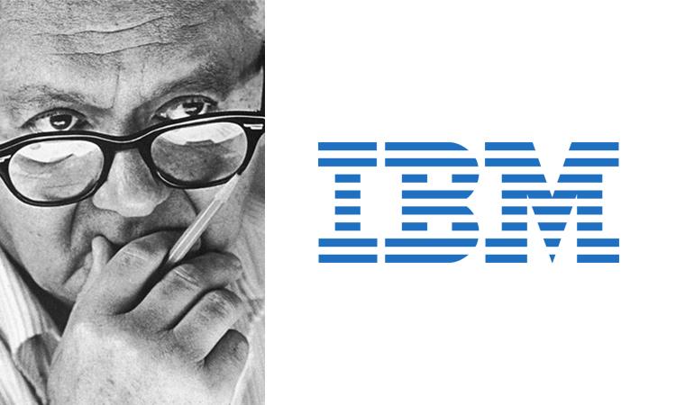 Paul Rand, IBM logo