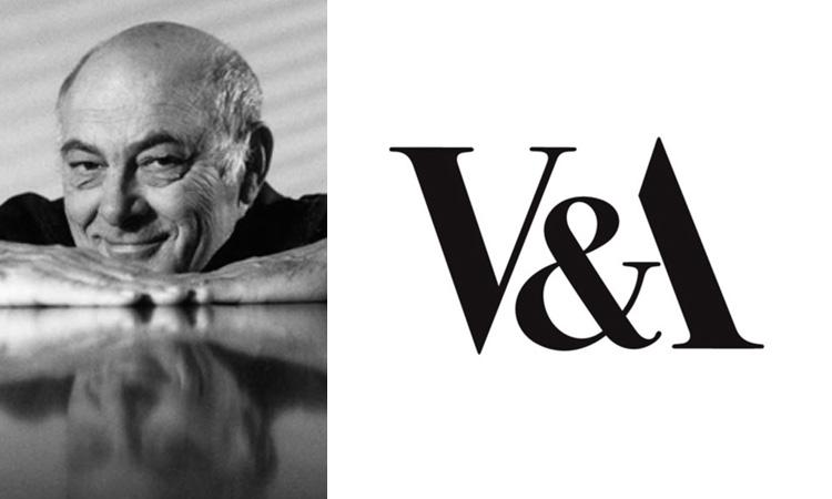 Alan Fletcher, V&A logo
