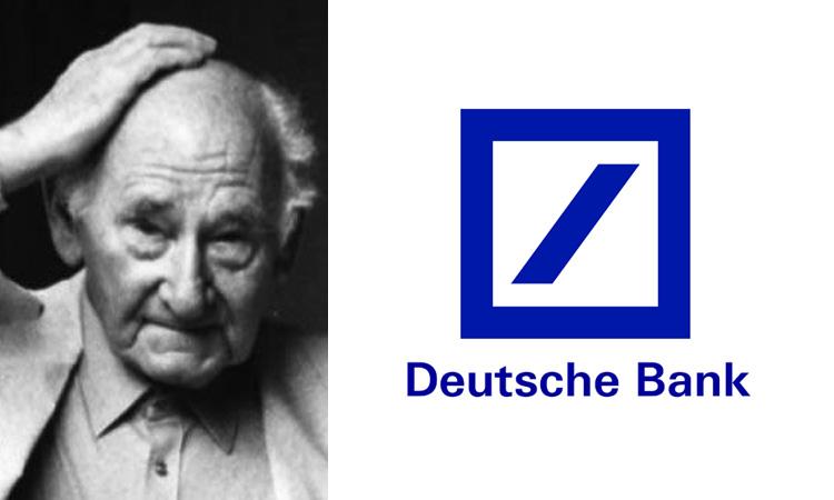 Anton Stankowski, Deutsche Bank logo
