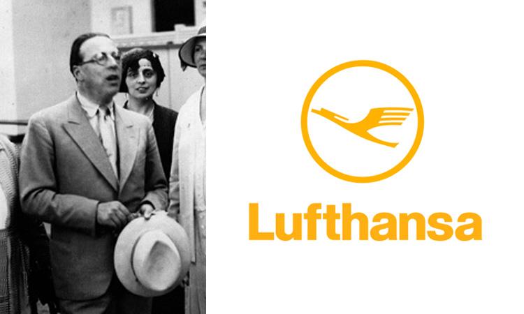 Otto Firle, Lufthansa logo