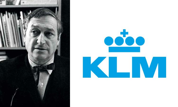 Henri Kay Henrion, KLM logo